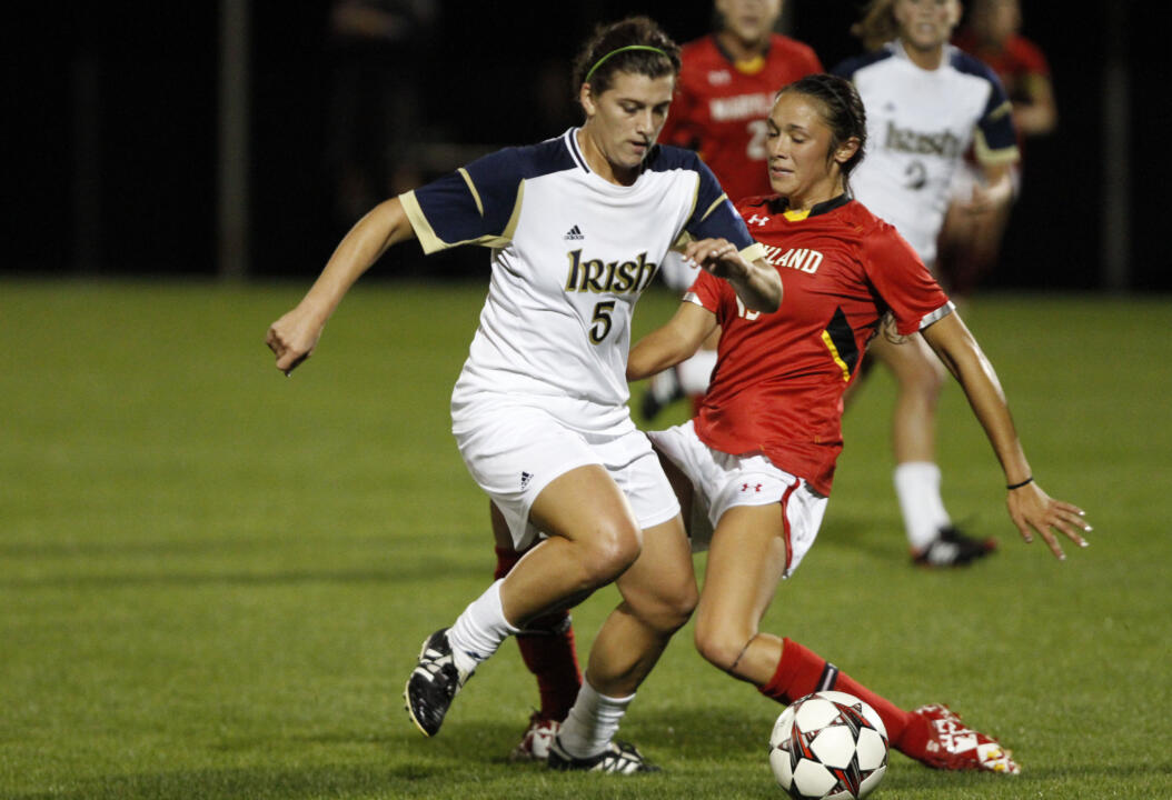 Sophomore Cari Roccaro scored in the 78th minute of last year's BIG EAST quarterfinal against Syracuse, pacing Notre Dame to a 1-0 win at Alumni Stadium.