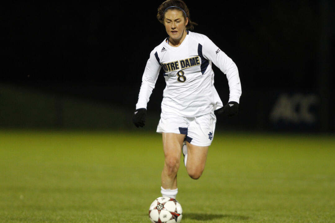 Notre Dame has filed an appeal with the NCAA, seeking to overturn the first of two yellow cards assessed to senior defender/tri-captain Elizabeth Tucker during Sunday's ACC quarterfinal loss at No. 5 Virginia Tech. Tucker, who was ejected after her second yellow card, currently stands to miss Notre Dame's next match in the first round of the NCAA Championship, should the Fighting Irish be selected.