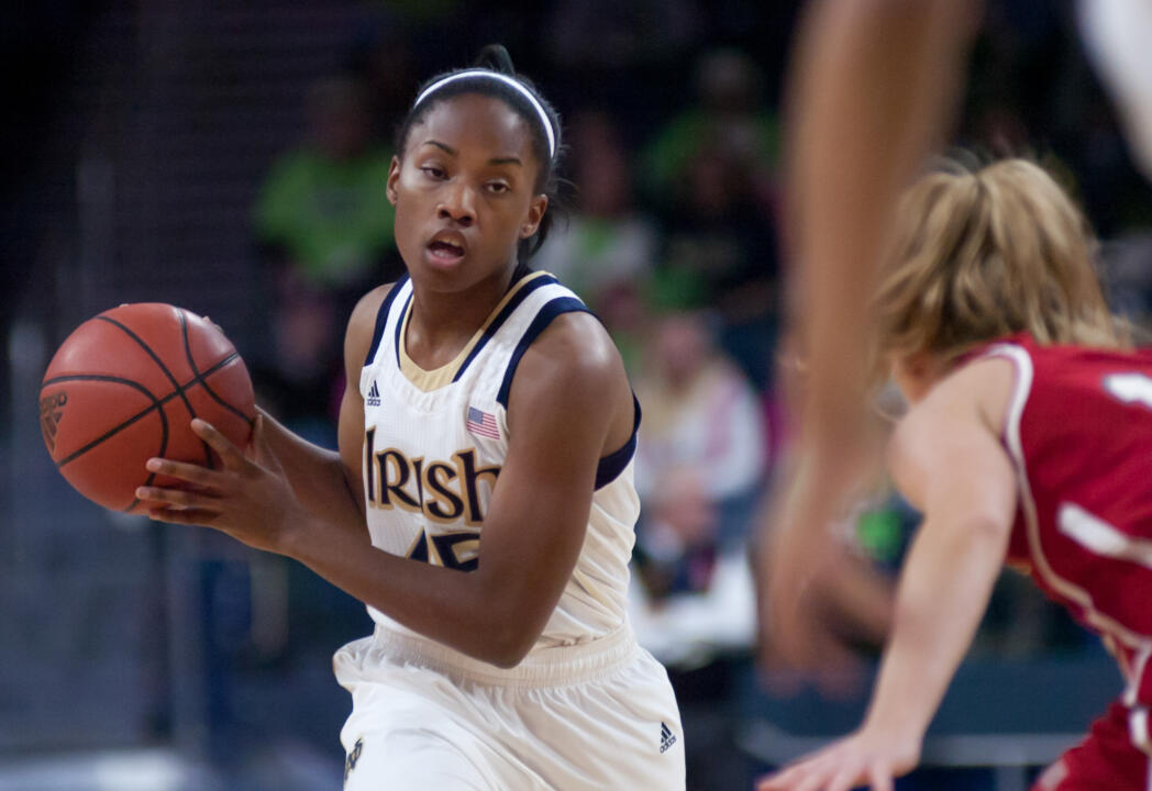 Freshman guard Lindsay Allen narrowly missed a double-double in Notre Dame's exhibition game against California (Pa.), finishing with 13 points and nine assists in a 118-49 Fighting Irish victory on Oct. 30 at Purcell Pavilion.