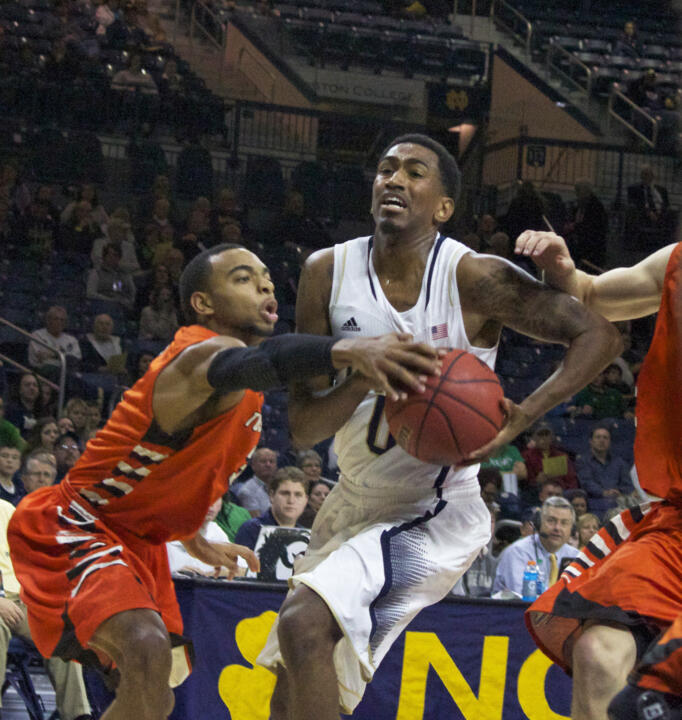 Senior point guard Eric Atkins needs just 13 more points to reach 1,000 for his career.