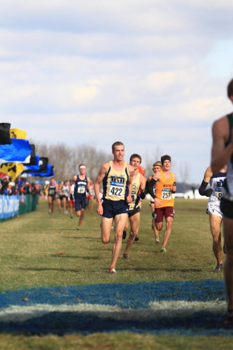 Senior Martin Grady earned All-American honors with his 35th-place finish.