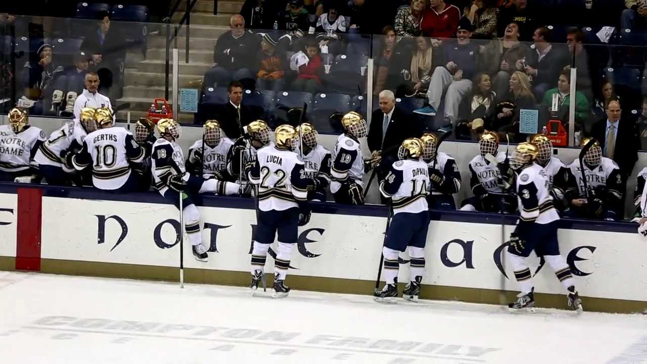 Irish in Hockey East: The Puck Drops at Compton