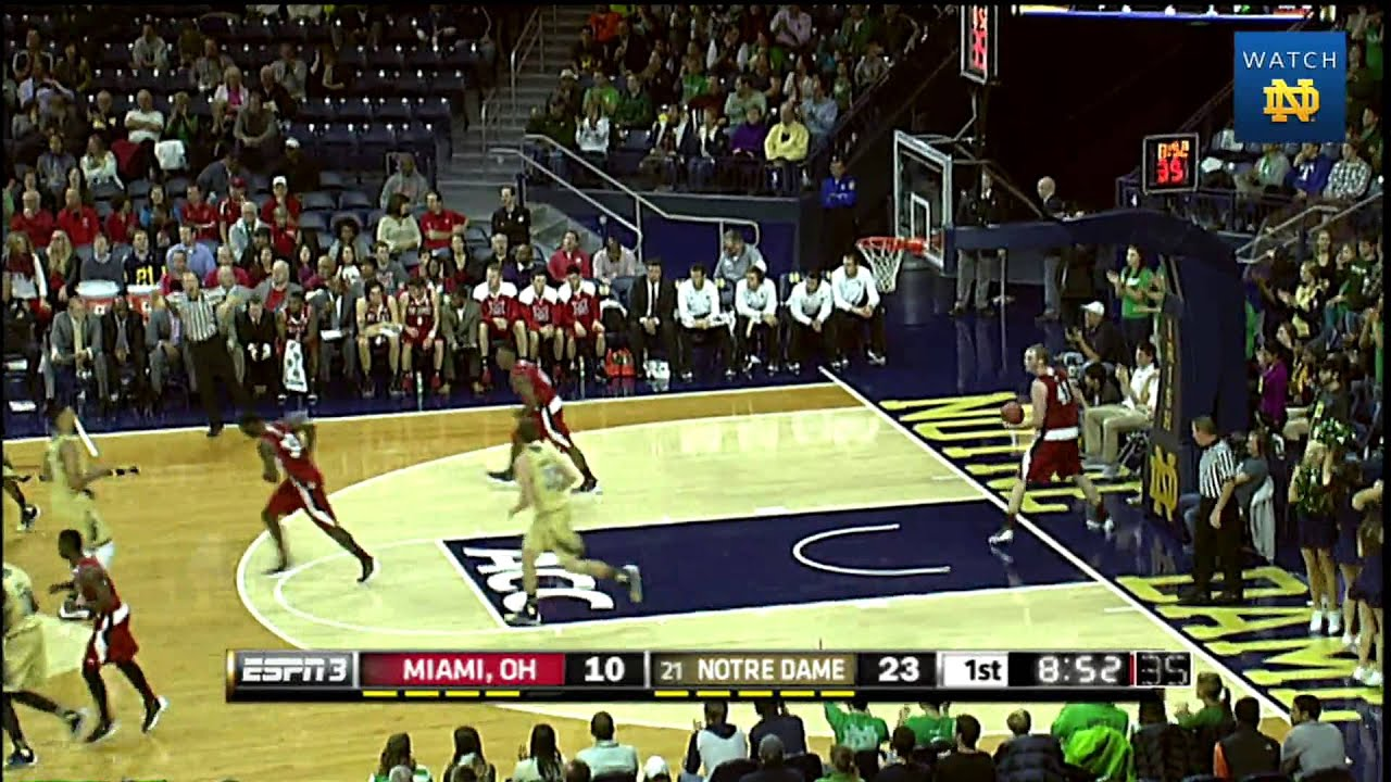 Irish 74, Redhawks 62 - Notre Dame Men's Basketball