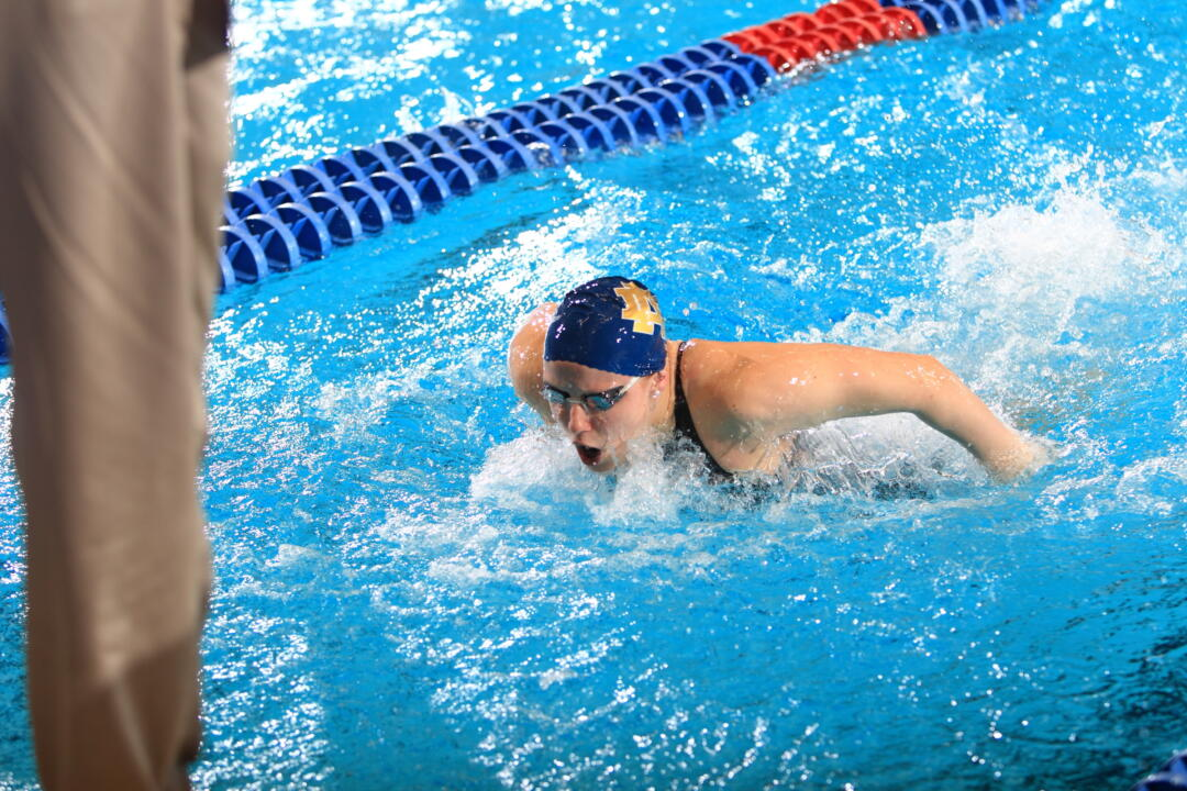 Junior Emma Reaney has already locked up her spot at the 2014 NCAA Championships after a pair of A cuts this past weekend.