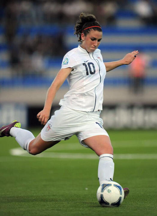Notre Dame freshman midfielder Morgan Andrews, who served as U.S. captain at the 2012 CONCACAF U-17 Championship and FIFA U-17 Women's World Cup, was one of three Fighting Irish players named to the American roster for the CONCACAF U-20 Championships Jan. 9-19 in the Cayman Islands.