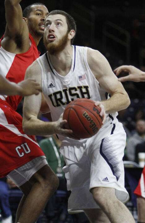 Irish senior center Garrick has averaged 11.3 points and 11.0 rebounds in Notre Dame's last three games.
