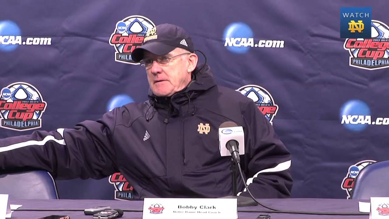 Notre Dame Men's Soccer New Mexico Post Game Presser