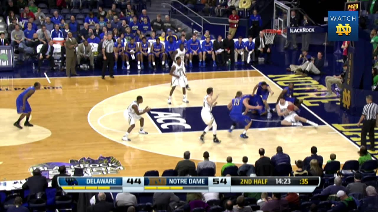 Irish 80, Blue Hens 75 - Notre Dame Men's Basketball