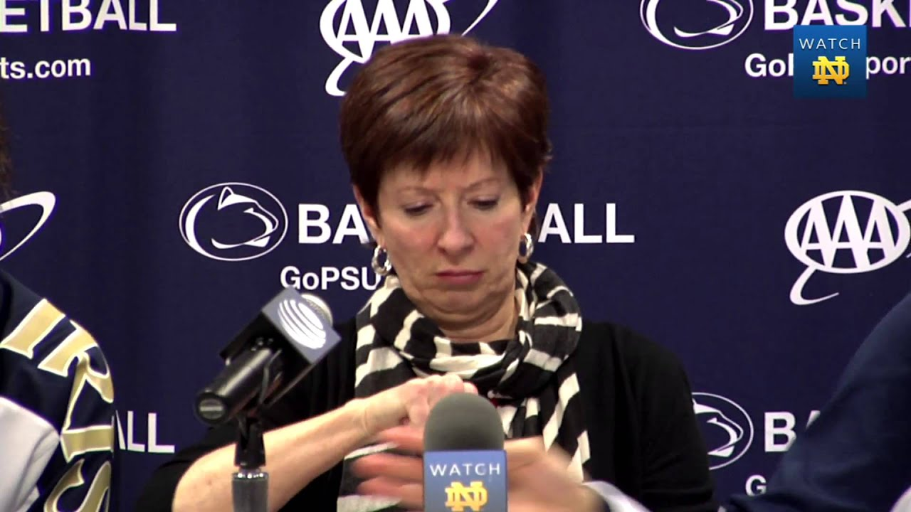 WBB Penn State Post Game Press Conference