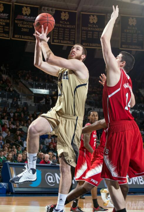 Senior center Garrick Sherman averaged 17.5 points and 13.0 rebounds during the first two ACC games.