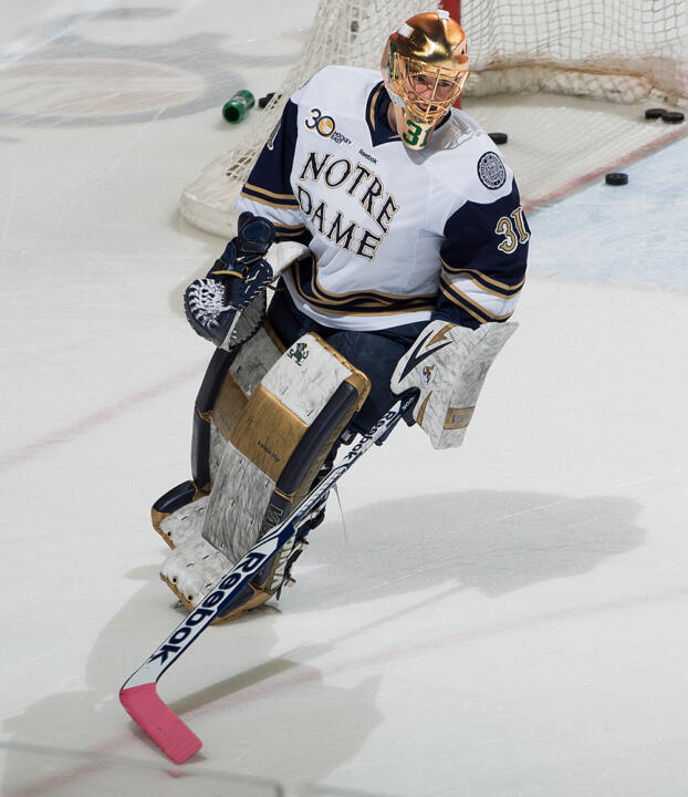 Senior goaltender Joe Rogers is one of 18 nominees for the College Hockey Humanitarian Award.