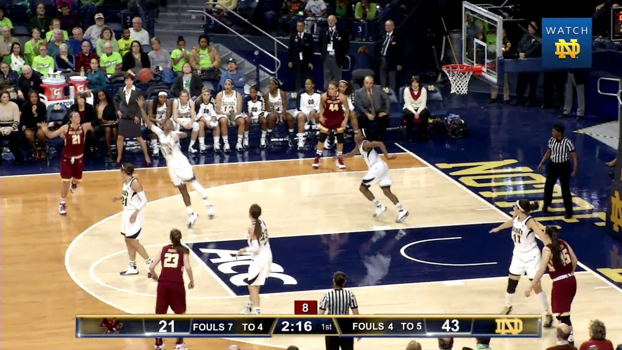 Irish 95, Eagles 53 - Notre Dame Women's Basketball