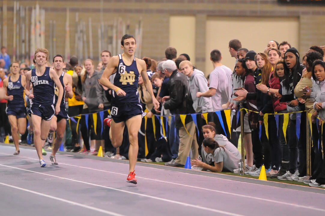 Jeremy Rae ran a sub four-minute mile for the third consecutive Meyo Invitational.