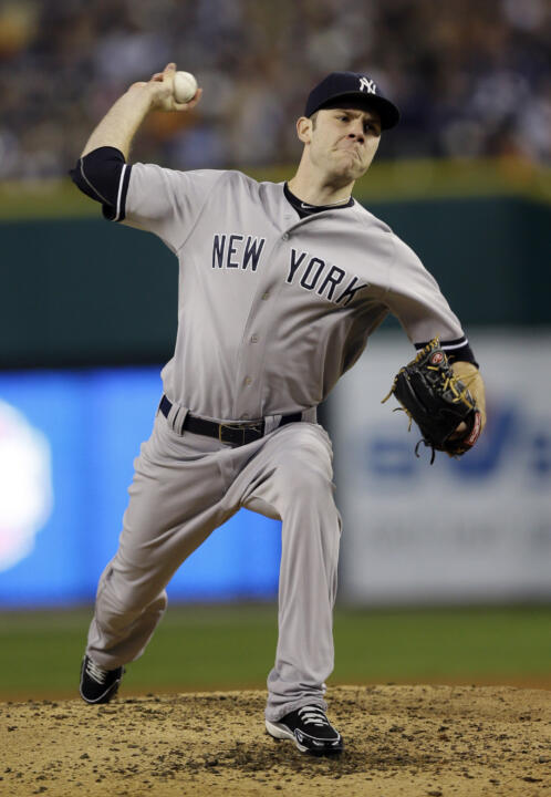 Former Irish hurler David Phelps is looking to lock down a rotation spot this season.