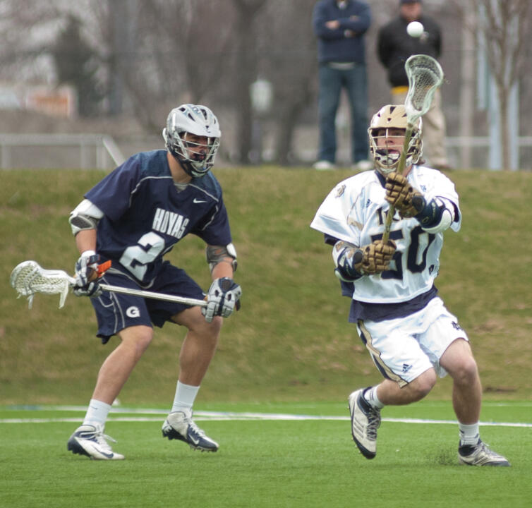 Matt Kavanagh scored the overtime game winner in last season's 10-9 victory over North Carolina.