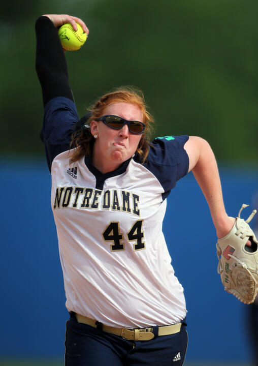 Notre Dame senior Laura Winter was named as one of 30 candidates for the 2014 Senior CLASS Award on Thursday