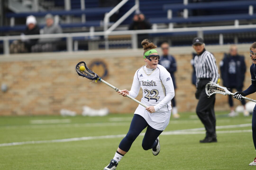 Margaret Smith had four ground balls, two draw controlls and four caused turnovers.