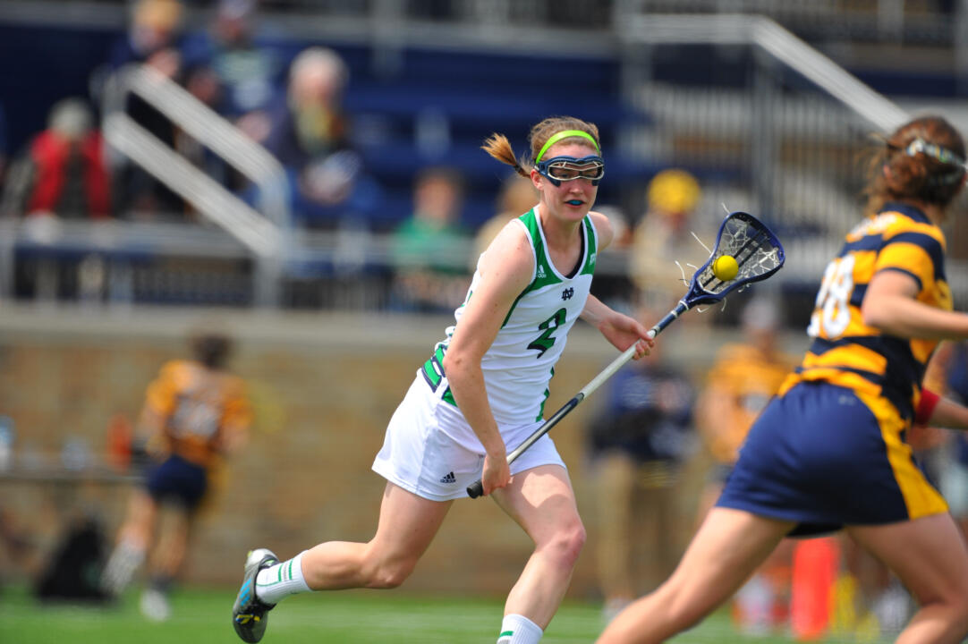 Caitlin Gargan leads Notre Dame with 11 points through two games.