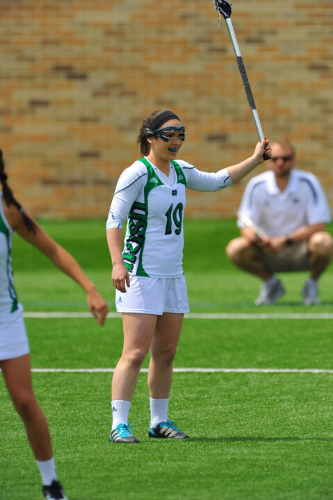 Julia Giorgio is one of four captains who will lead the Irish in 2014.