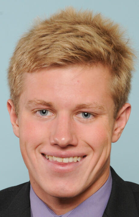 Freshman Tom Anderson broke his own school record 400 IM time (3:45.82) on Friday at the ACC Championship