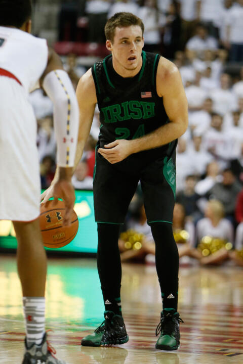 Junior Pat Connaughton will return to his home state of Massachusetts to play Boston College on Sunday.