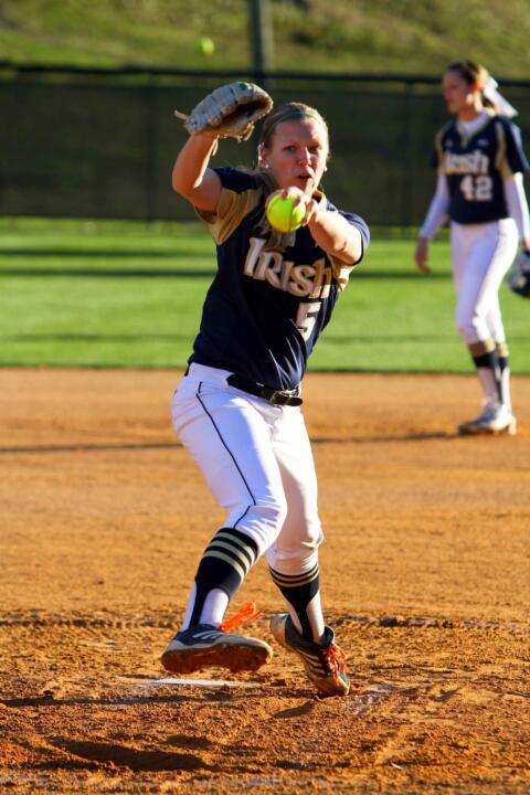 Sophomore pitcher Allie Rhodes