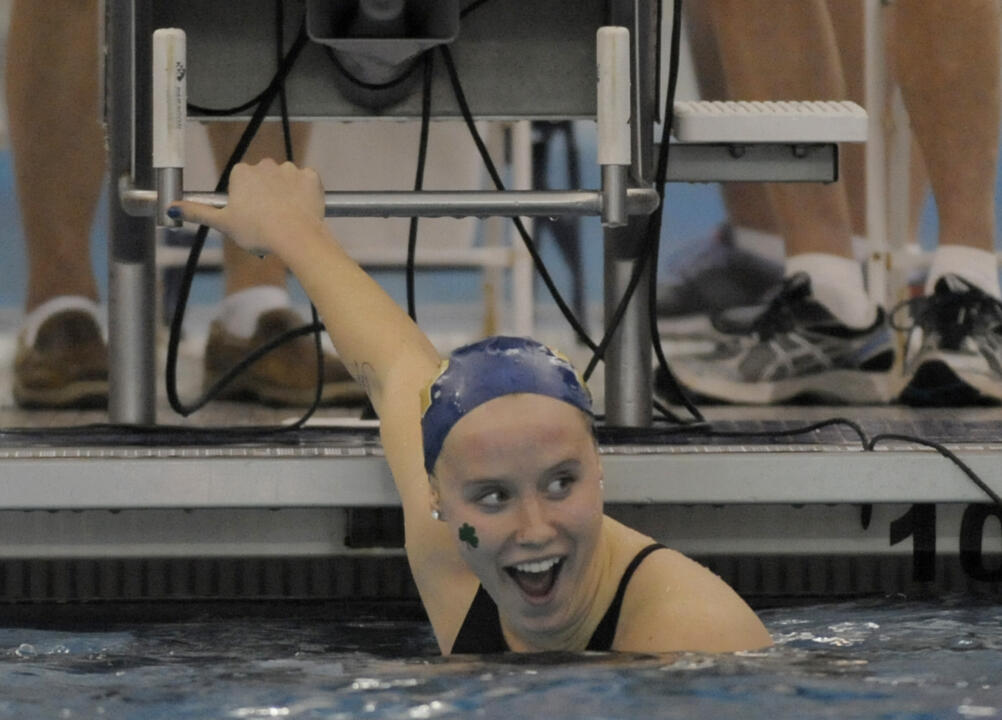 Junior Emma Reaney will train at the elite SwimMAC Carolina facility this summer.