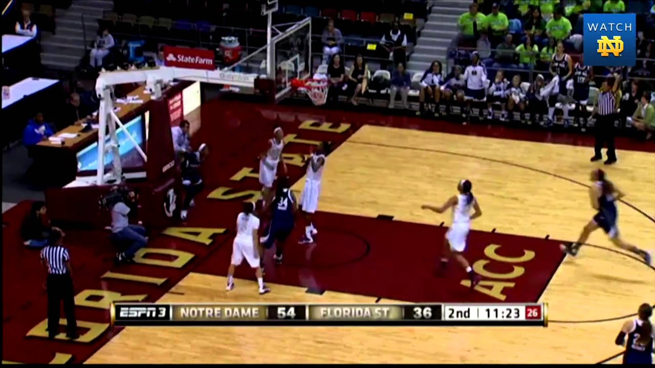 Irish 81, Seminoles 60 - Notre Dame Women's Basketball