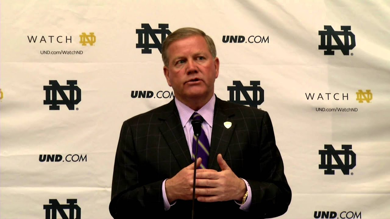 Coach Kelly Signing Day Press Conference