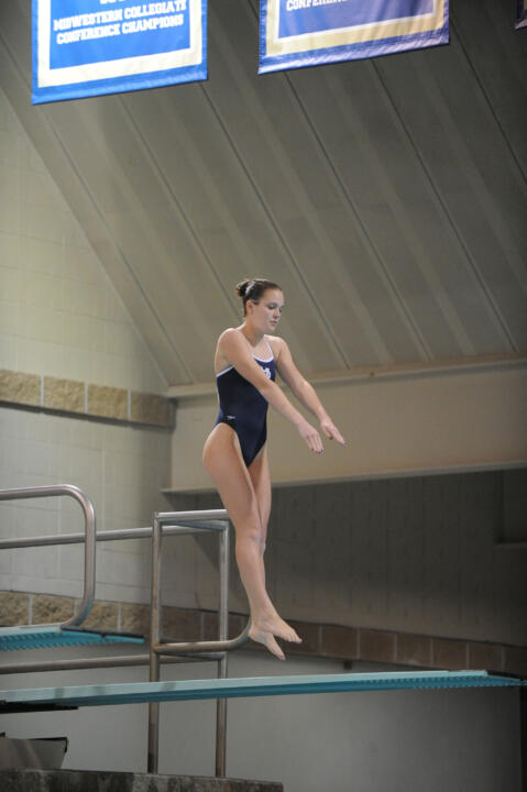 Sophomore Lindsey Streepey finished sixth in the 1-meter dive Thursday afternoon at the NCAA Zone C Qualifier.
