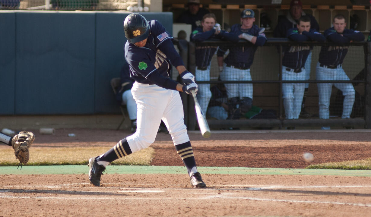 Sophomore Ricky Sanchez had a two-run triple in the fourth inning Saturday afternoon.