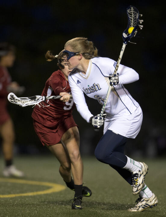 On Saturday, Stephanie Toy and her Irish teammates will look to avenge a 2013 loss to Stanford in the NCAA Tournament.