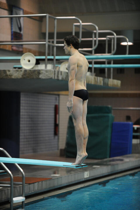 Junior Ted Wagner was the top Notre Dame finisher in the platform dive (263.90 points) at the ACC Championship last month