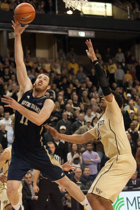 Garrick Sherman notched 20 points and six rebounds in a 65-58 setback at Wake Forest on Jan. 25. That was the only regular-season meeting between the two teams.