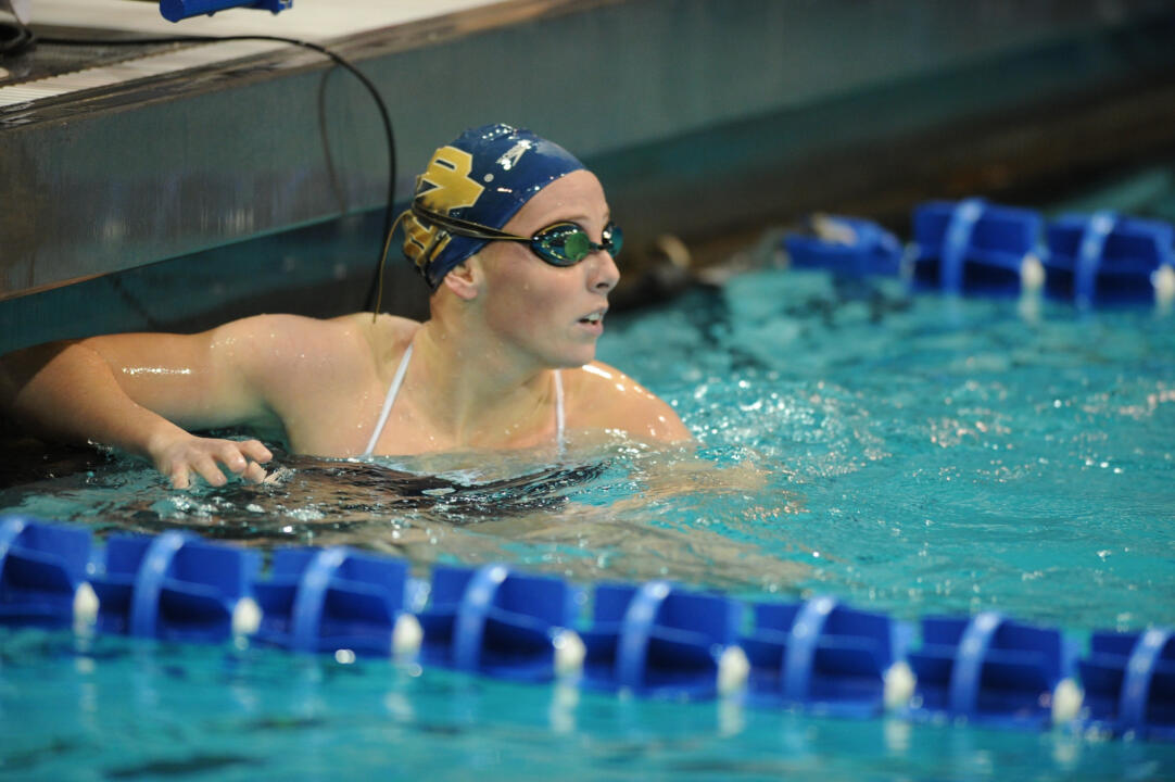 Junior Bridget Casey has qualified for her second NCAA Championships in the 200 fly.