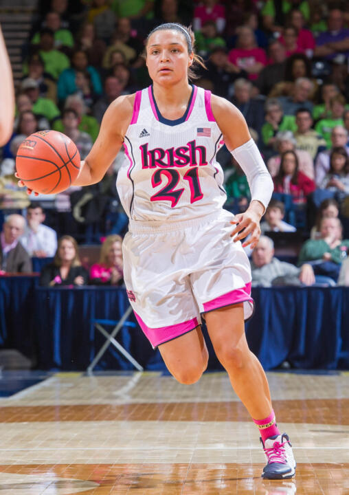 Senior guard/tri-captain Kayla McBride was named the Most Outstanding Player of last year's BIG EAST Championship after averaging 16.7 points per game and leading the Fighting Irish to their first conference tournament title since 1994.