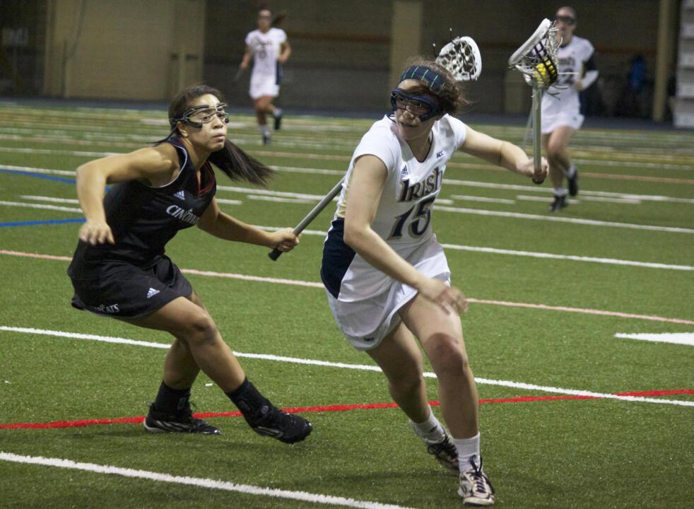 Cortney Fortunato leads all freshmen nationally with 20 goals so far in 2014.