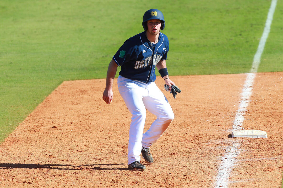 Junior Blaise Lezynski racked up six hits and drove in three runs in a doubleheader Sunday against Wake Forest.