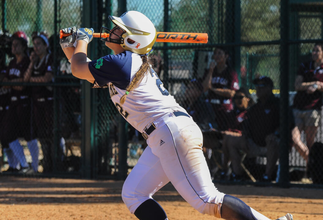 Sophomore Micaela Arizmendi broke Sunday's game at Georgia Tech open with a second inning grand slam