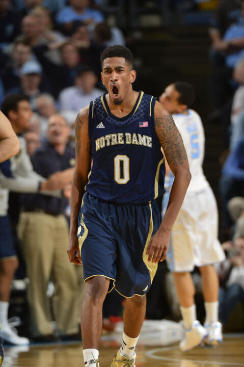 Eric Atkins is one of just five players in Notre Dame history with better than 1,000 career points and 500 assists.