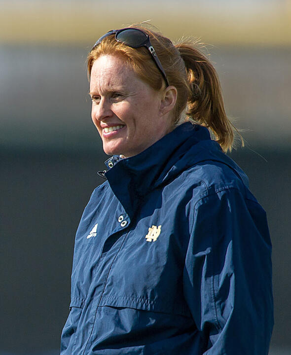 Theresa Romagnolo, who spent the past three seasons as head coach at Dartmouth following successful stints as an assistant coach at Stanford and San Diego, was named head women's soccer coach at the University of Notre Dame on Wednesday. <i>(photo courtesy Stanford University)</i>