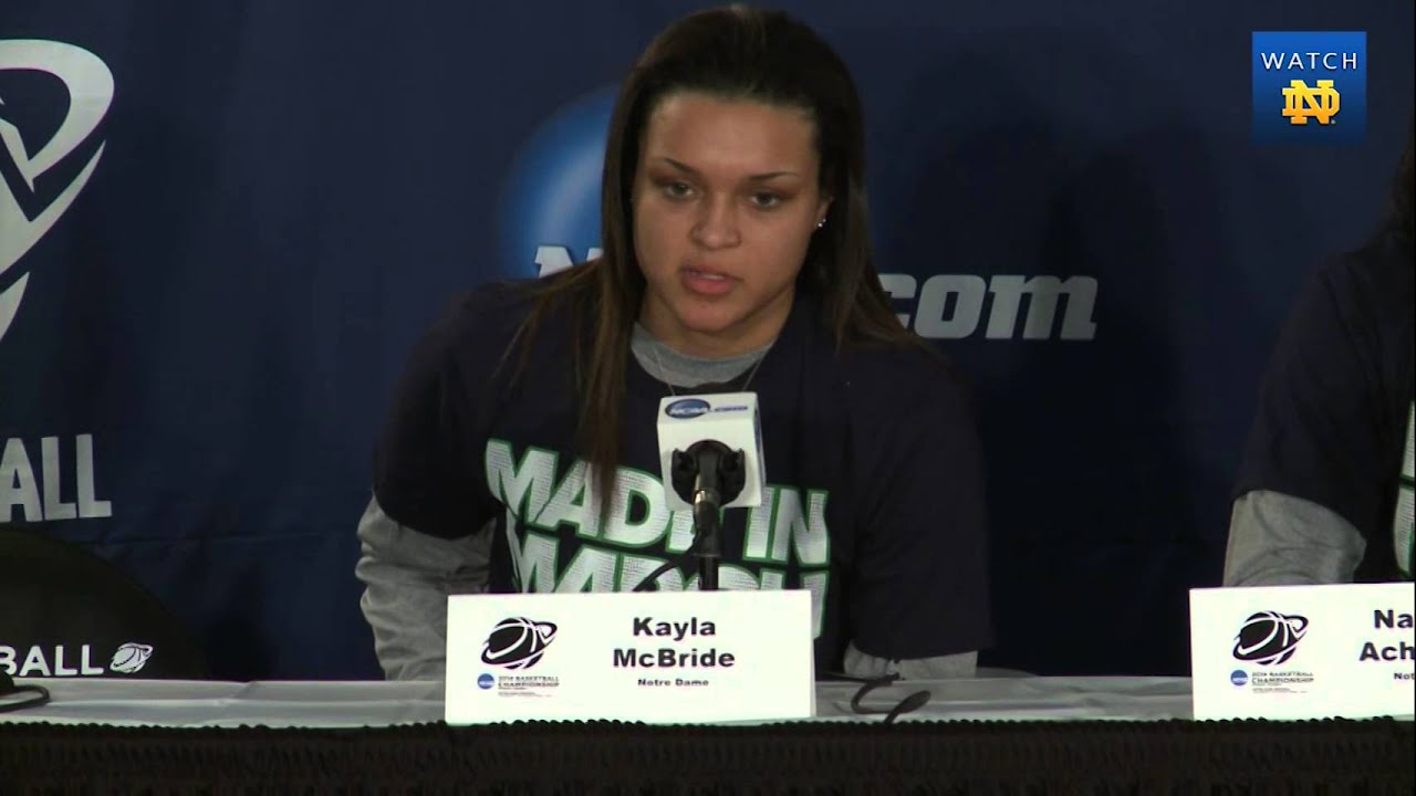 WBB - NCAA Regional Players Opening Press Conference