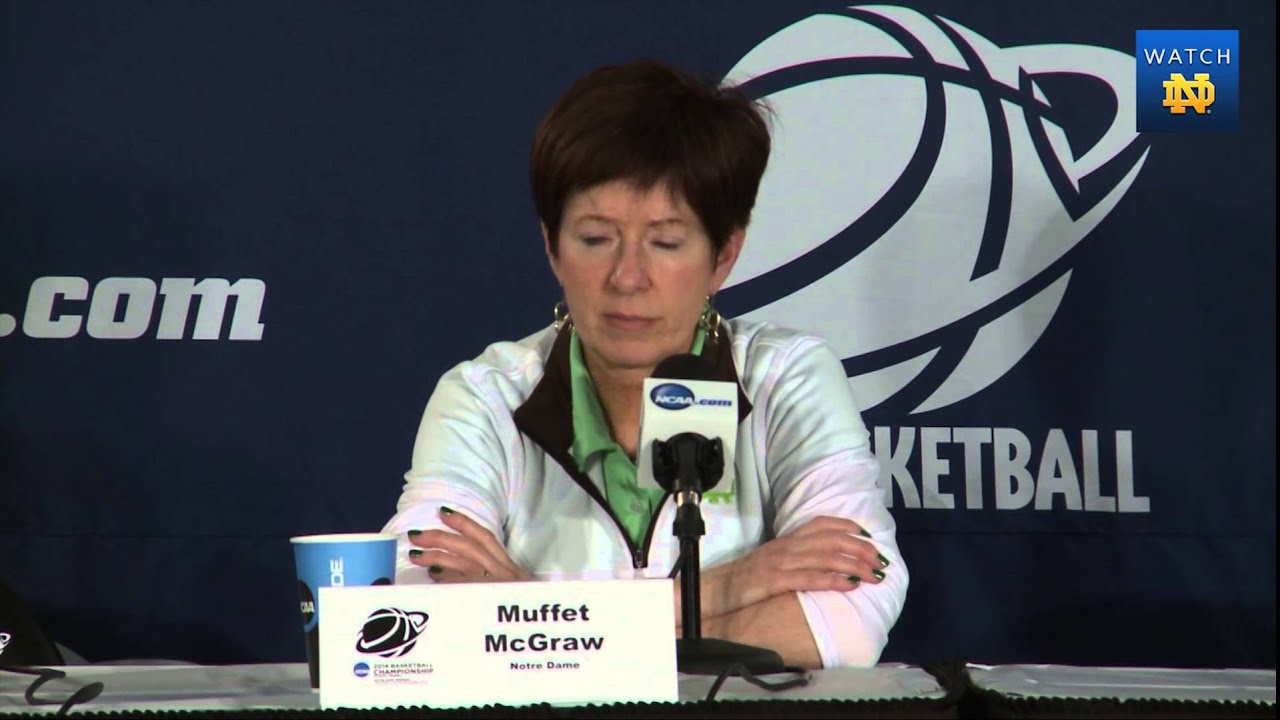 WBB - NCAA Regional Muffet McGraw Opening Press Conference