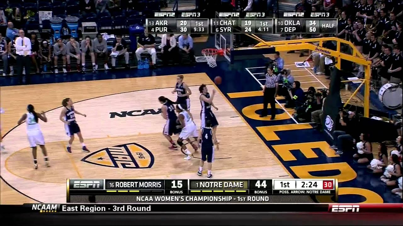 WBB - Robert Morris Highlights
