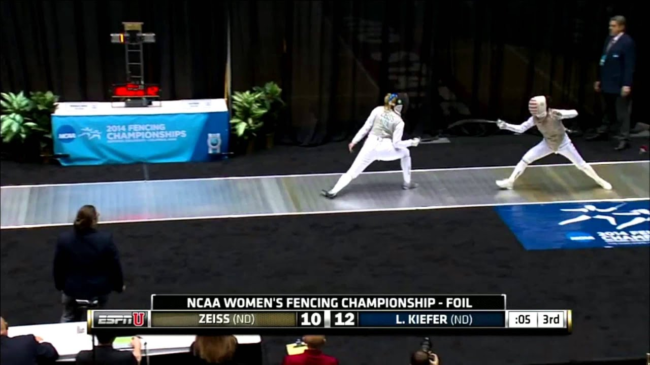 FEN - Kiefer Wins All-ND Foil National Championship