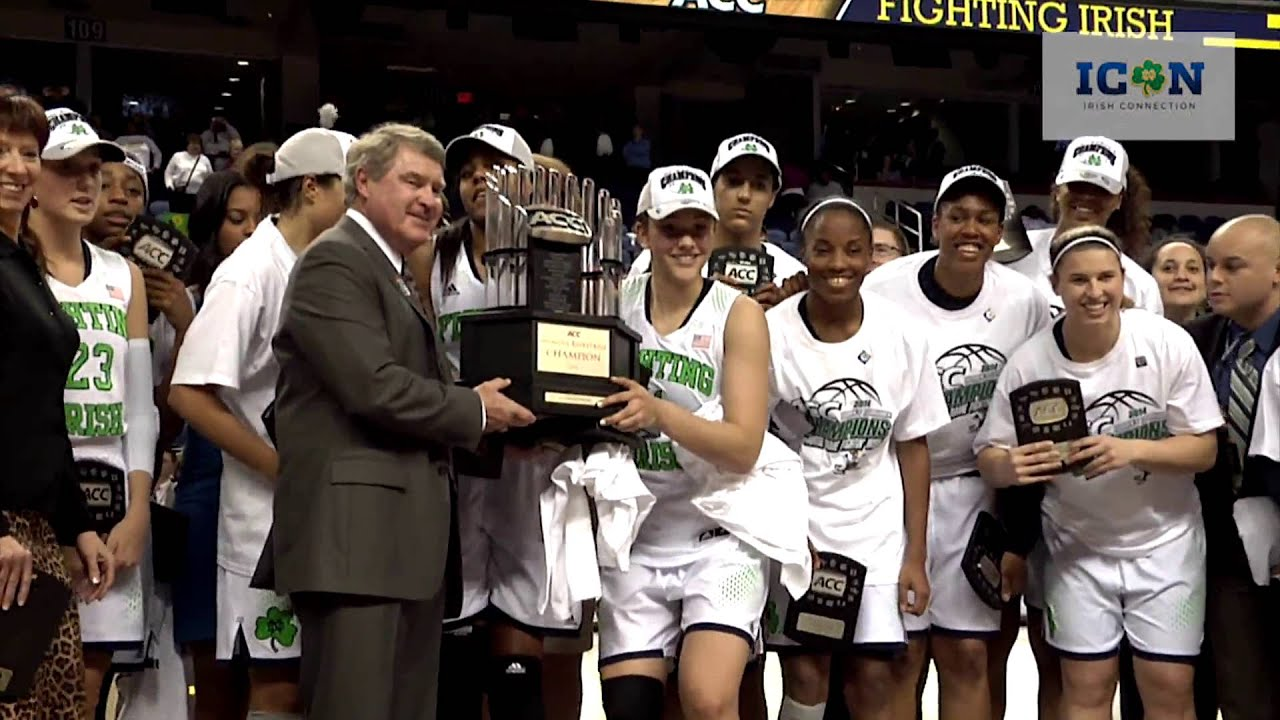 ICON - WBB Wins ACC Championship