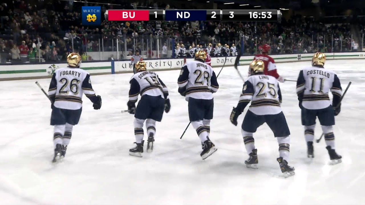 HKY vs. BU Hockey East Playoff Highlights