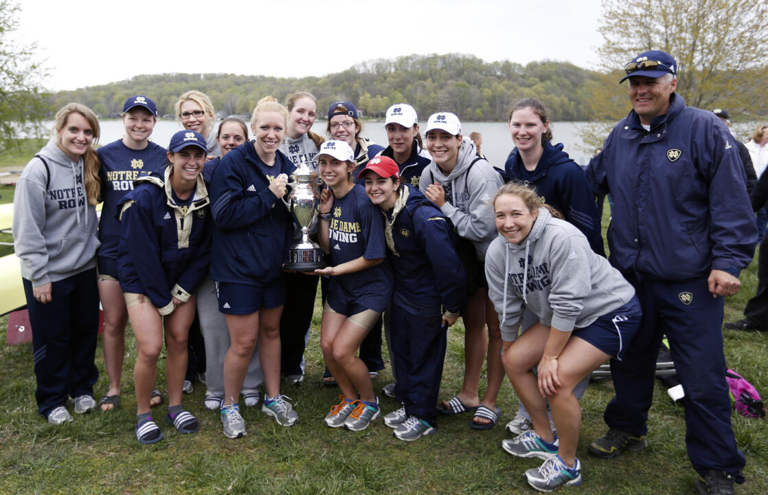 Notre Dame will attempt to defend the regatta title at this weekend's Dale England Cup