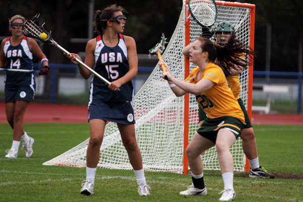 Cortney Fortunato is one of seven members of the 2011 USA U-19 national team who now play at either Notre Dame or Duke.