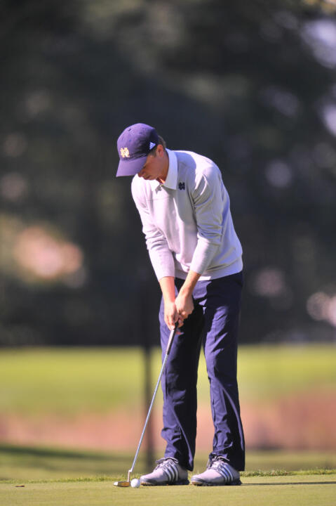 North Carolina native Cory Sciupider returns to his home state this weekend when Notre Dame competes at the Irish Creek Collegiate